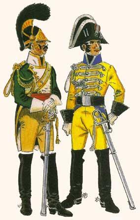 Spanish Dragoon Regiments Regimientos de Dragones